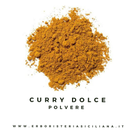 curry dolce in polvere