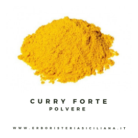 curry forte in polvere